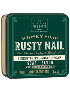 Whisky Cocktail Rusty Nail Luxury Soap in a Tin-The Scottish Fine Soap