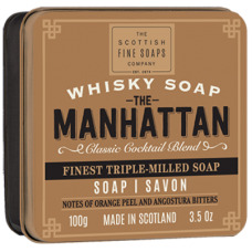 The Manhatton Soap in a Tin